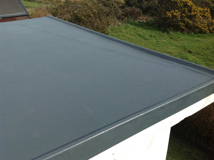 Fibreglass roof - Roof Repairs Dublin